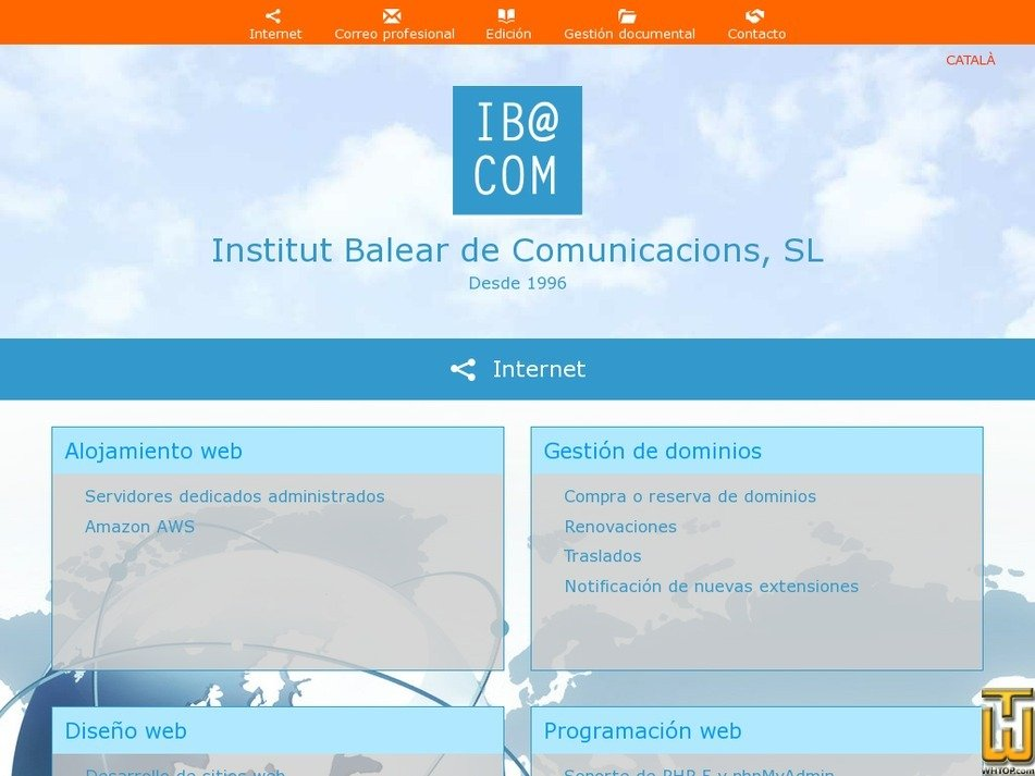 ibacom.es Screenshot