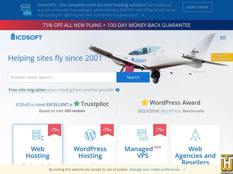 icdsoft.com Screenshot