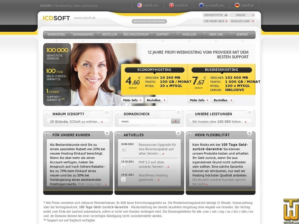 icdsoft.de Screenshot