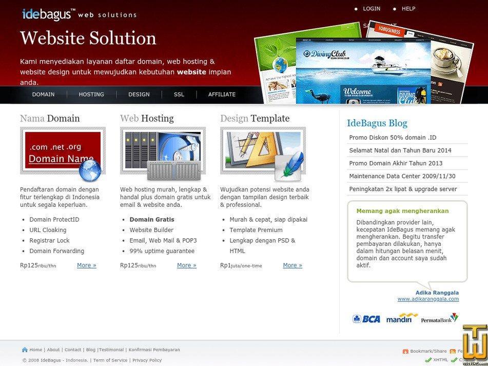 idebagus.com Screenshot