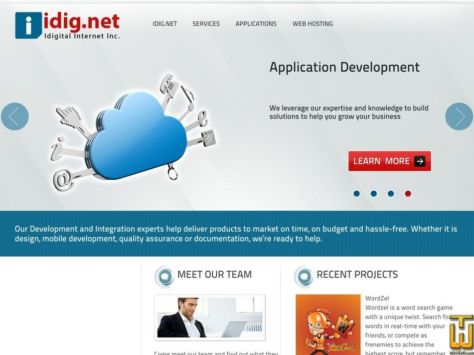 idig.net Screenshot