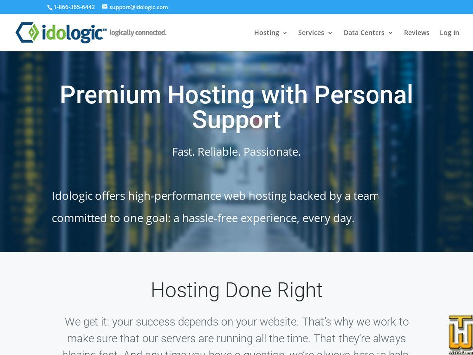 idologic.com Screenshot