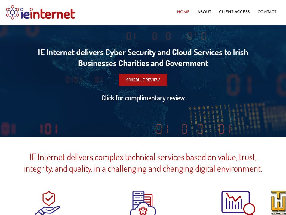 ieinternet.com Screenshot