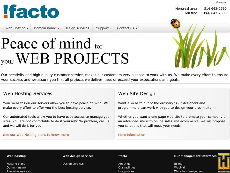 ifacto.com Screenshot