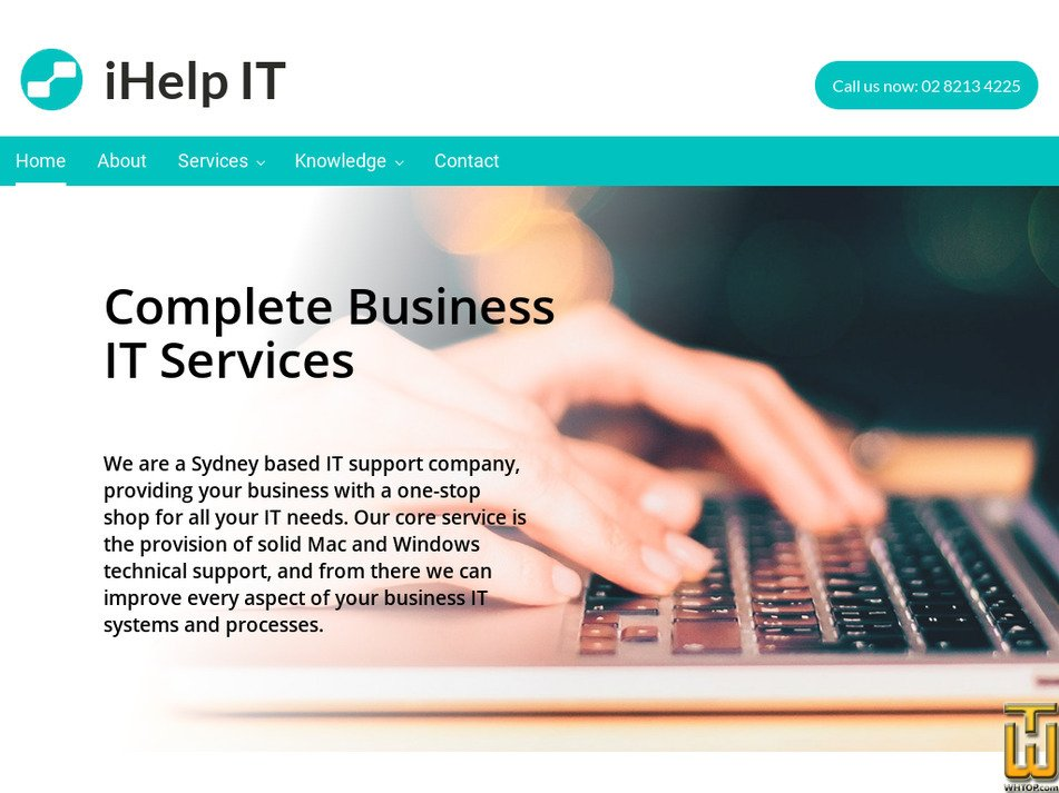ihelpit.com.au Screenshot