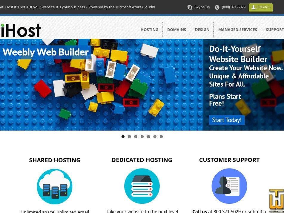 ihostnamo.com Screenshot