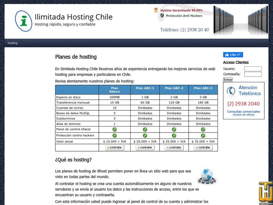 ilihost.com Screenshot