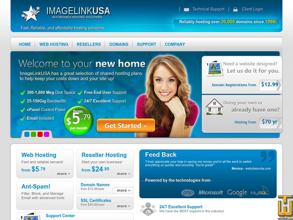 imagelinkusa.net Screenshot