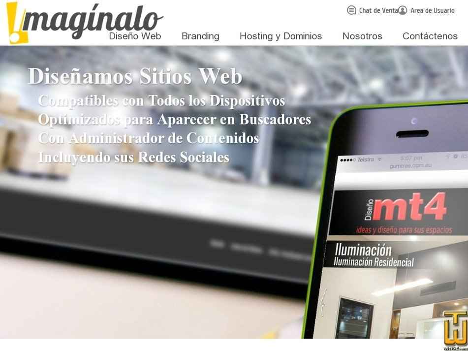 imaginalo.com.co Screenshot