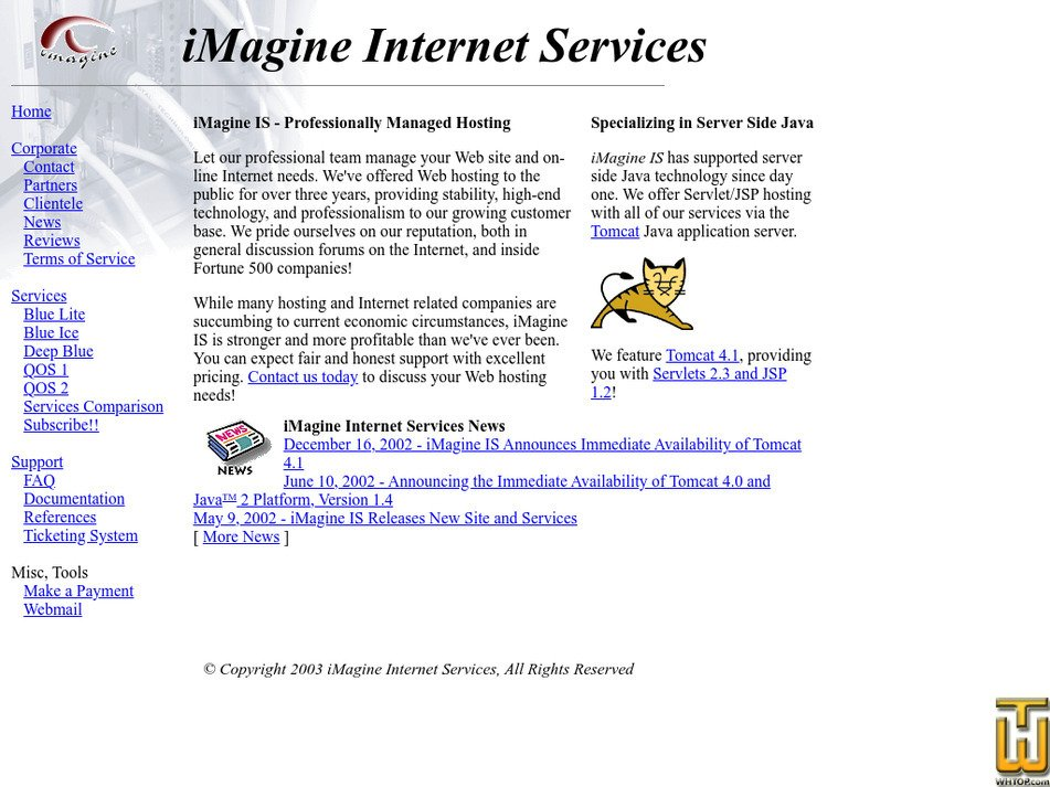 imagineis.com Screenshot