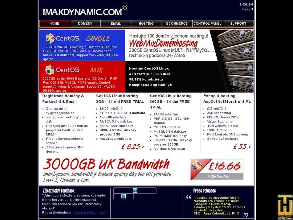 imakdynamic.com Screenshot