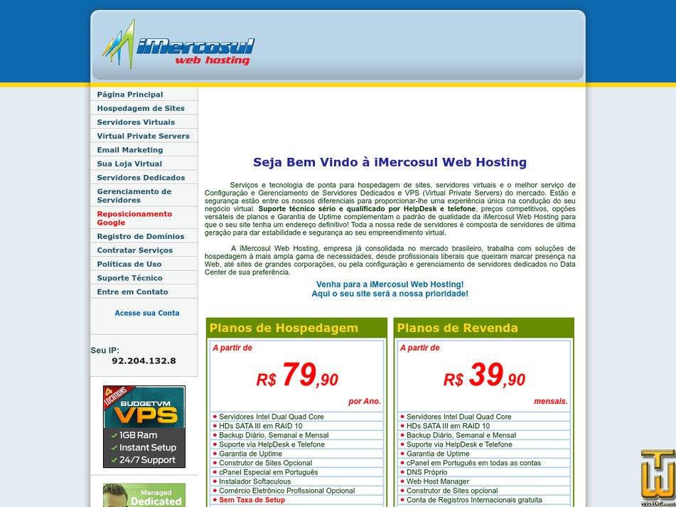 imercosul.com.br Screenshot