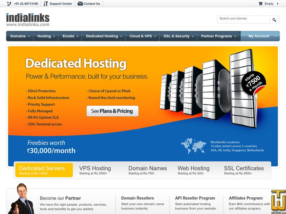 indialinks.com Screenshot