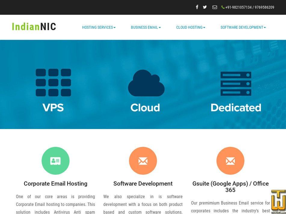 indiannic.com Screenshot