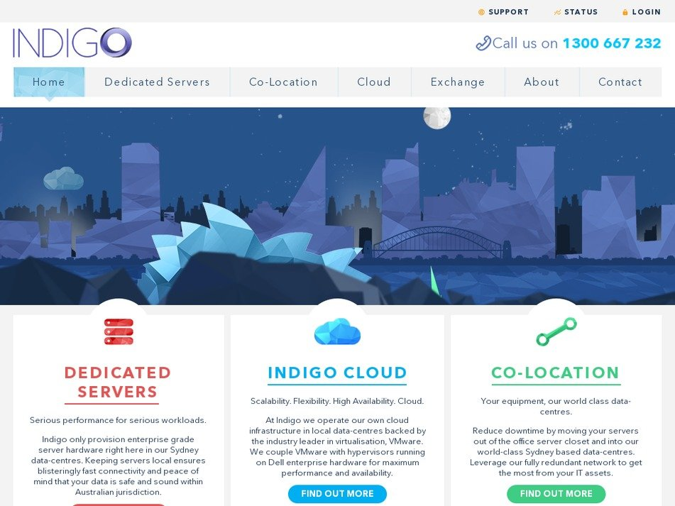 indigo.com.au Screenshot