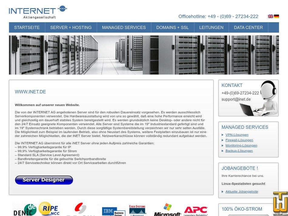 inet.de Screenshot