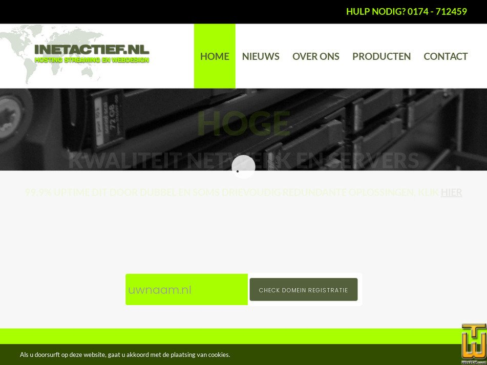 inetactief.nl Screenshot