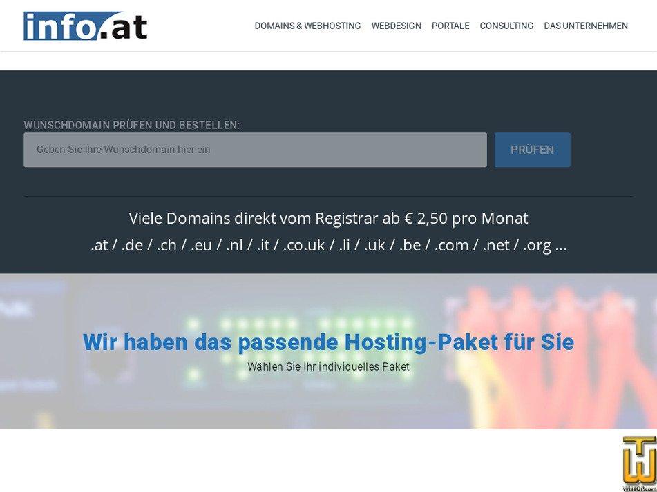 info.at Screenshot