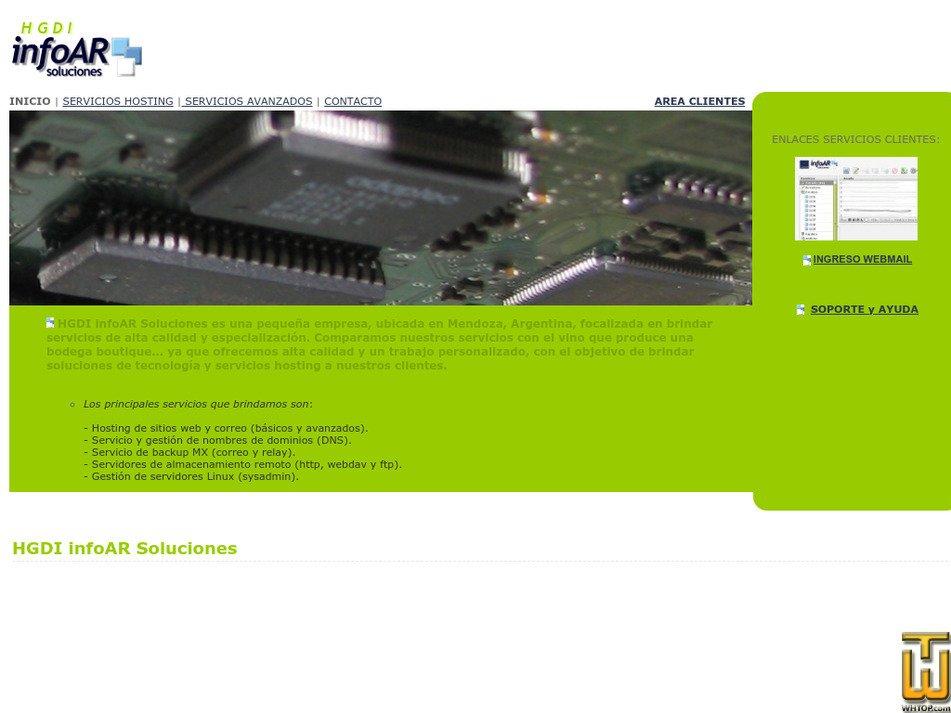 infoar.net Screenshot