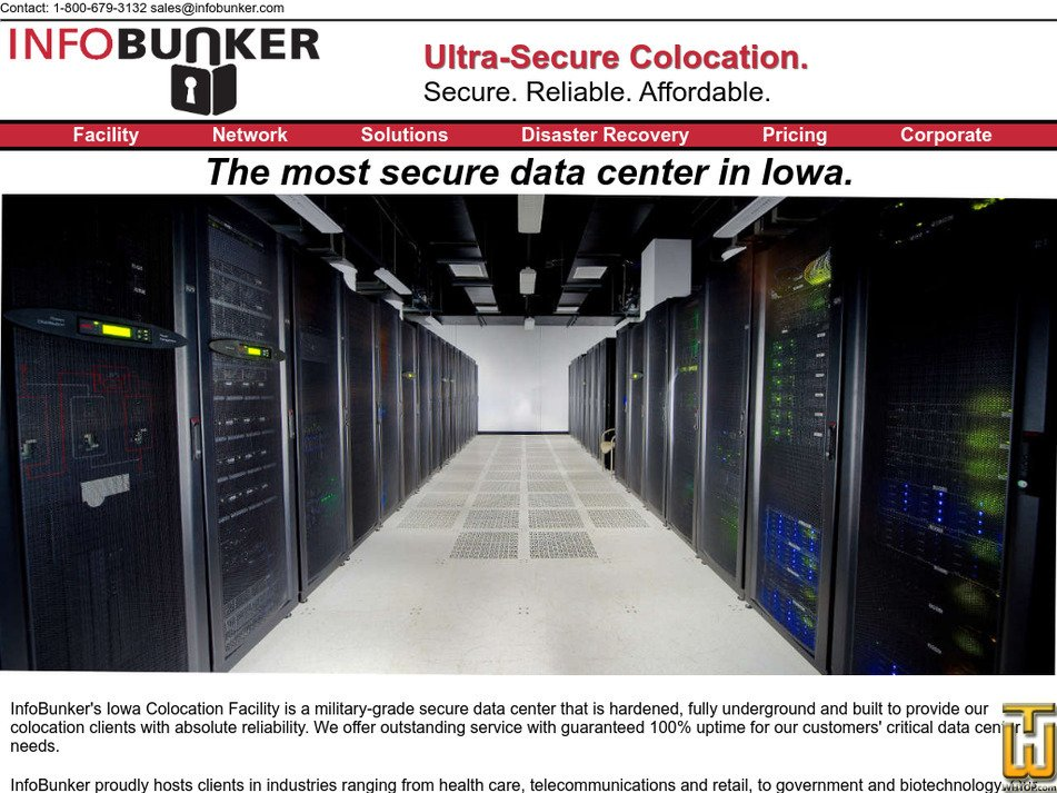 infobunker.com Screenshot