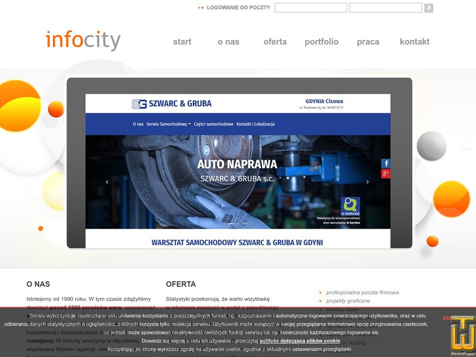 infocity.pl Screenshot