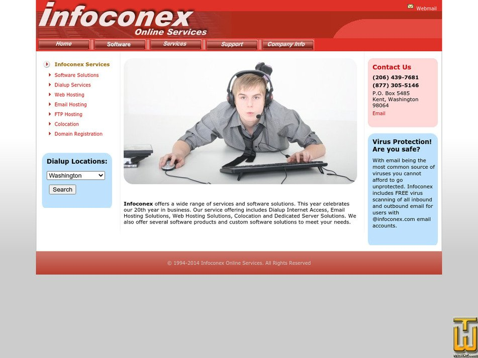 infoconex.com Screenshot