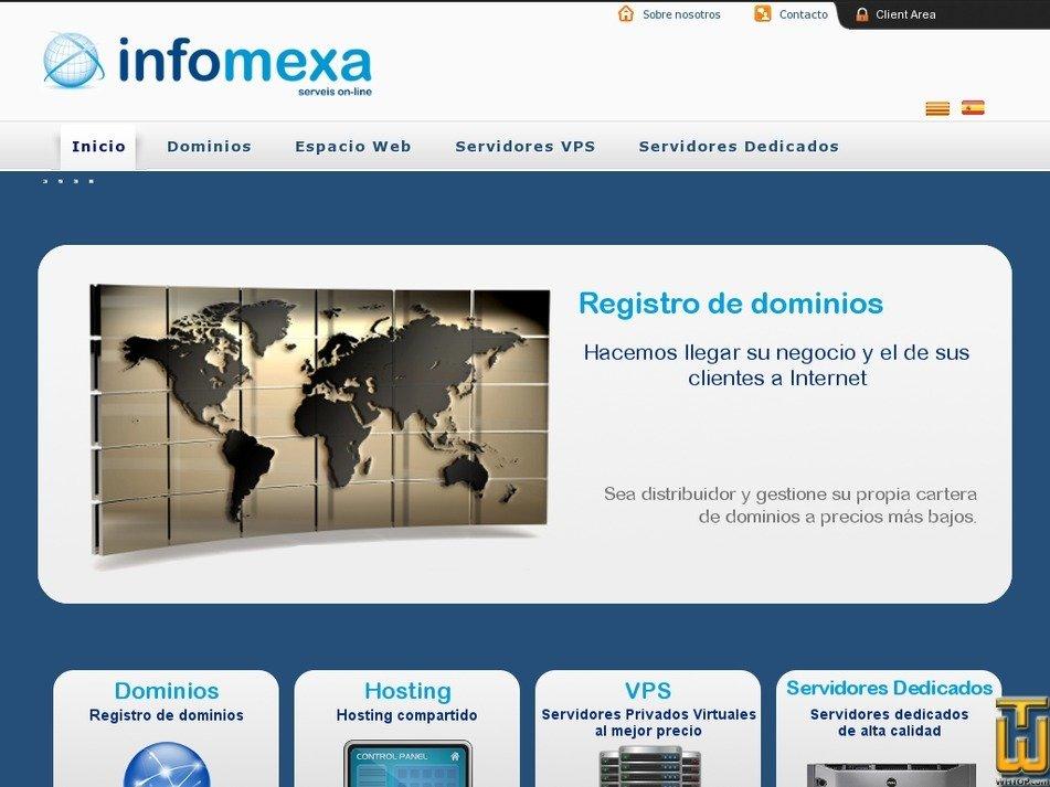 infomexa.com Screenshot