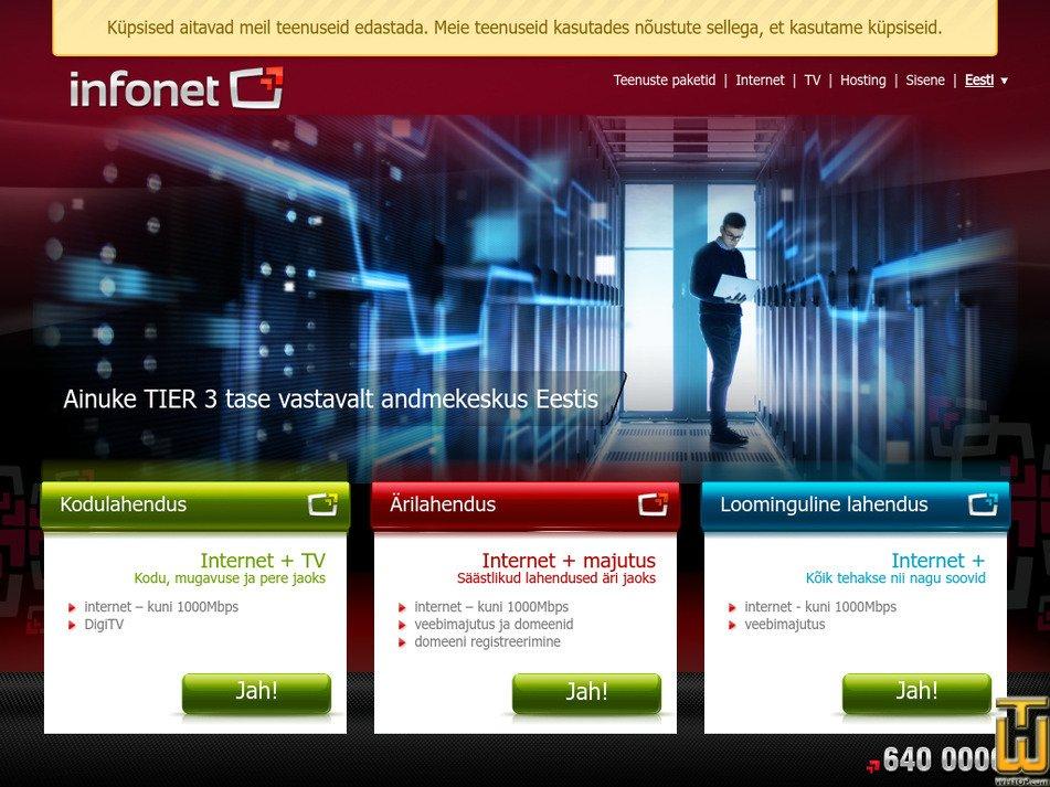 infonet.ee Screenshot