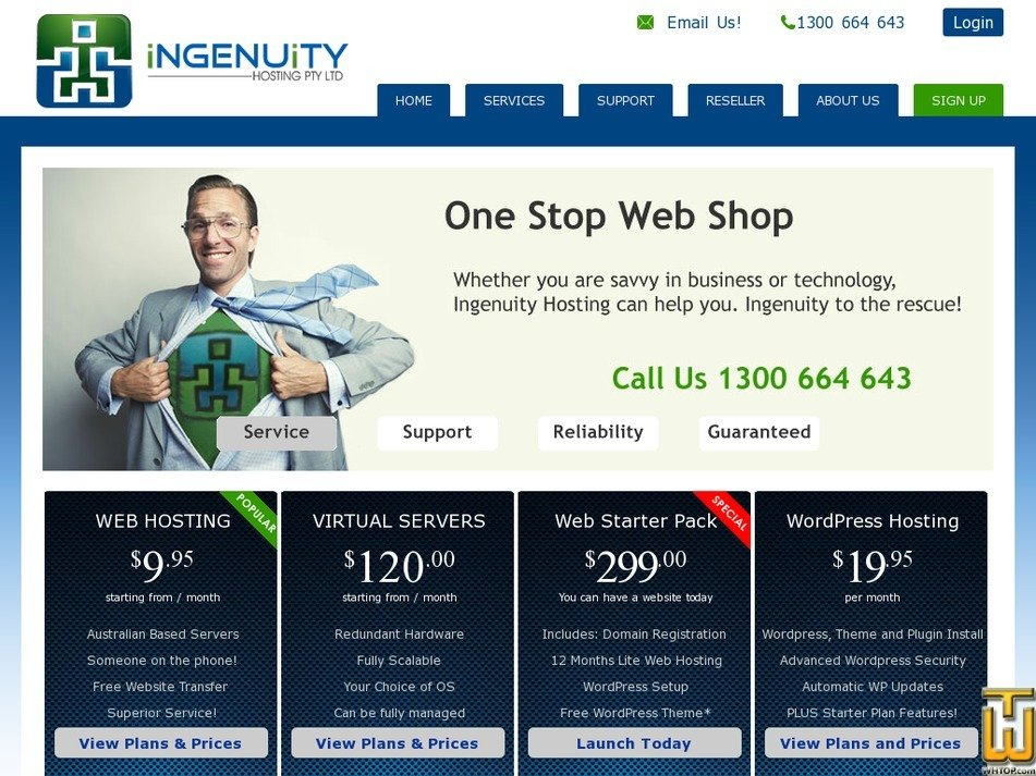ingenuity.net.au Screenshot