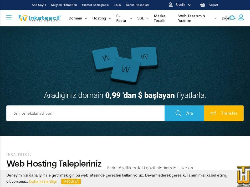inkatescil.com.tr Screenshot