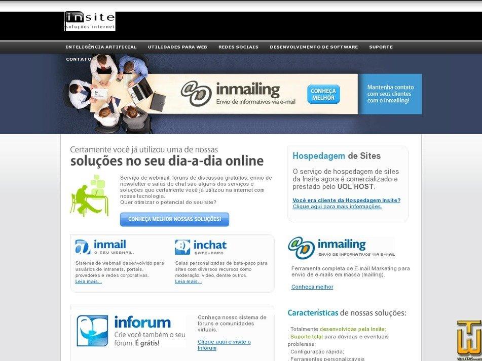 insite.com.br Screenshot