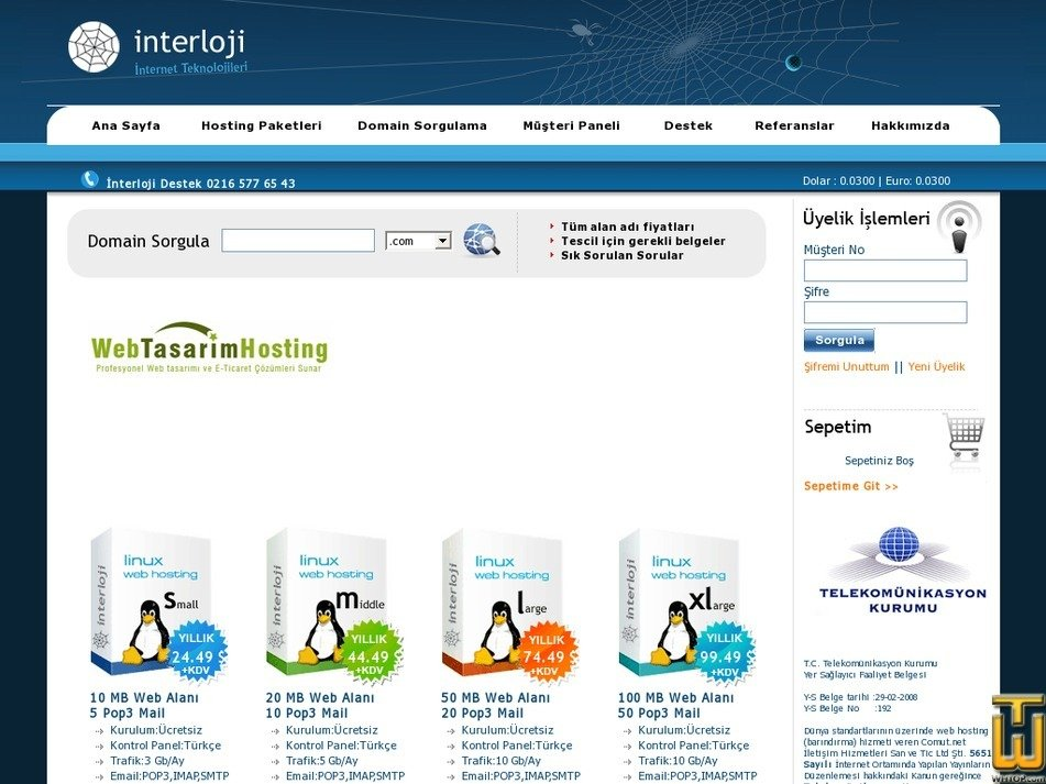 interloji.com Screenshot