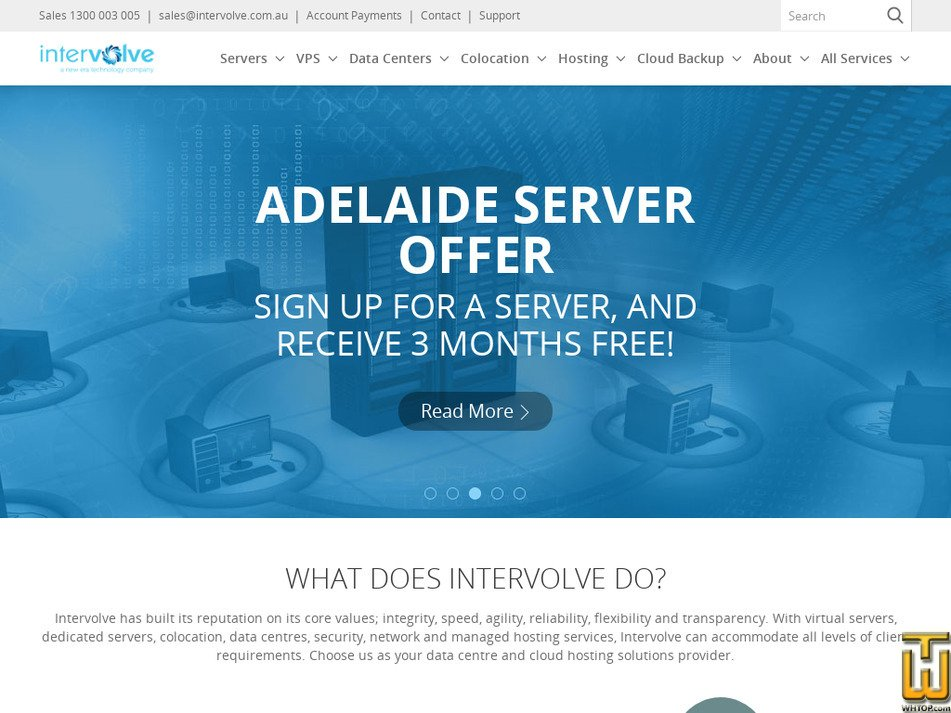 intervolve.com.au Screenshot