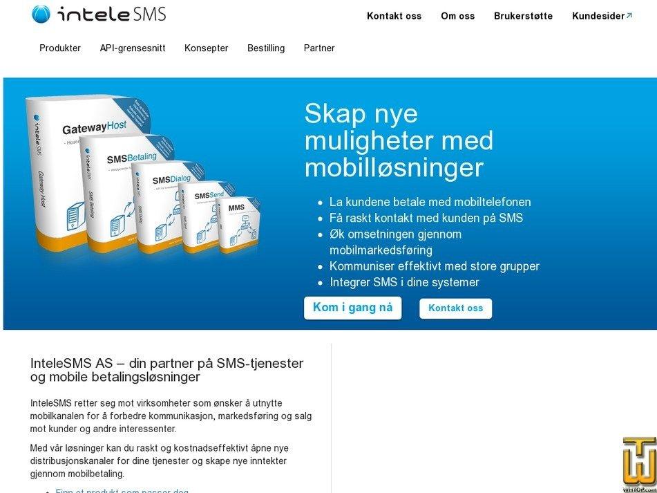 interweb.no Screenshot