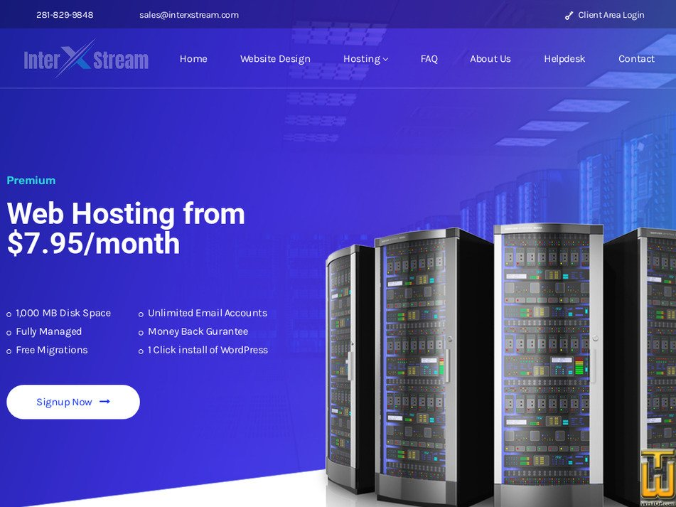 interxstream.com Screenshot