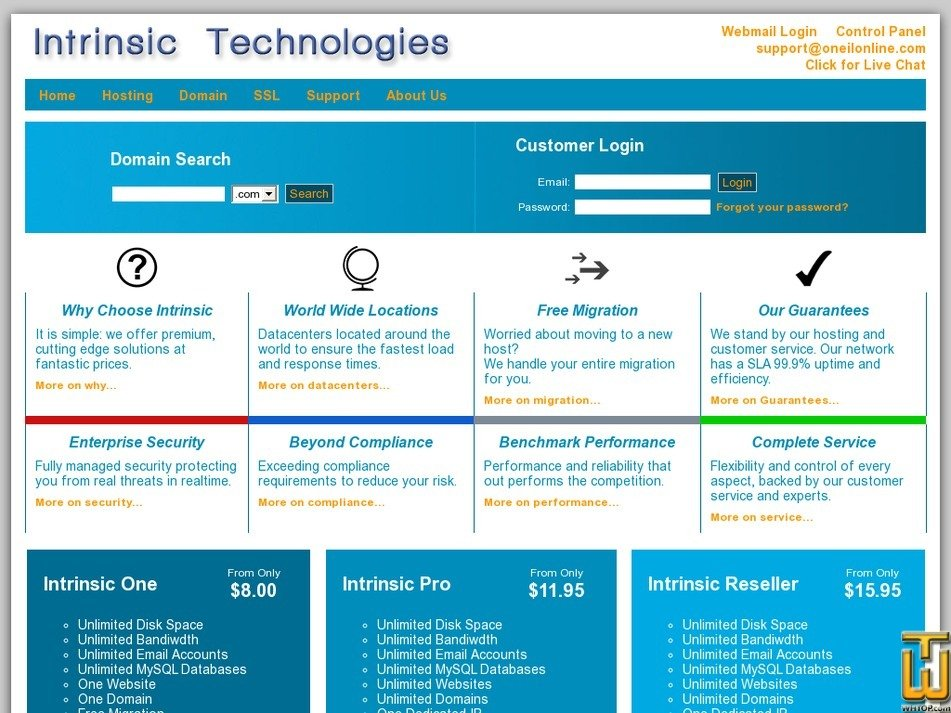 intrinsictech.com Screenshot