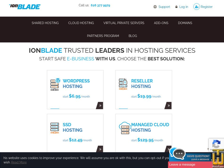 ionblade.com Screenshot