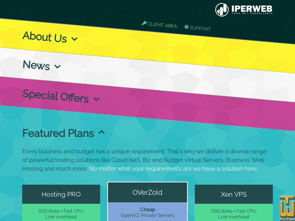 iperweb.com Screenshot