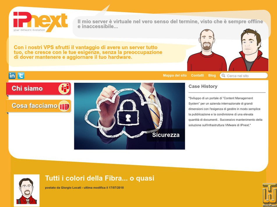 ipnext.it Screenshot