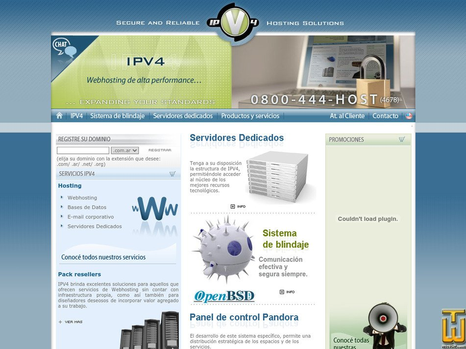 ipv4networks.com Screenshot