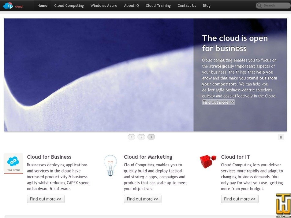 iqcloud.net Screenshot