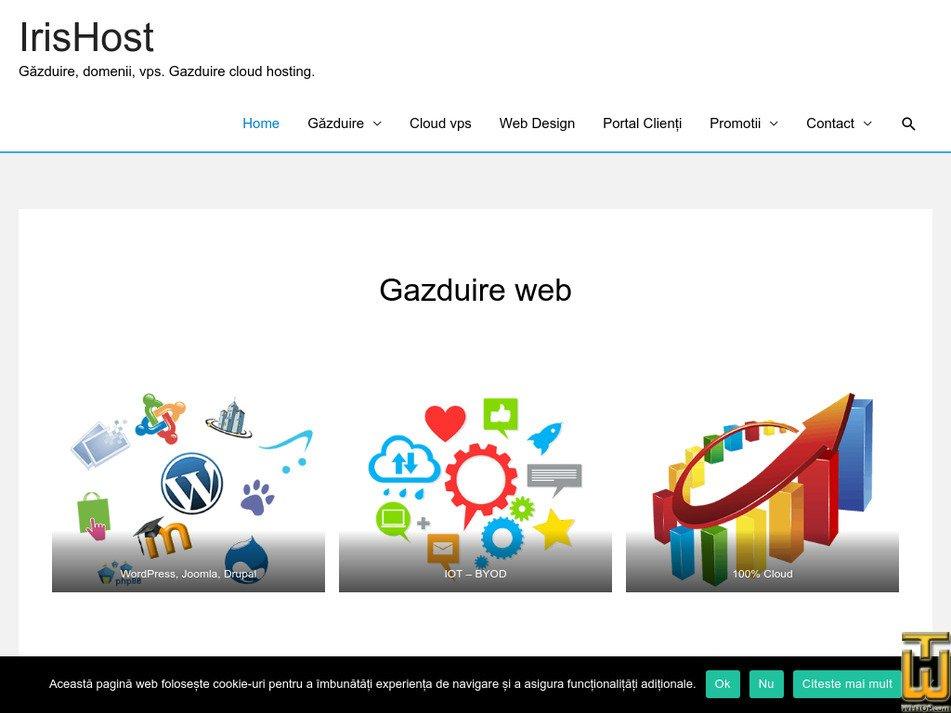 irishost.ro Screenshot