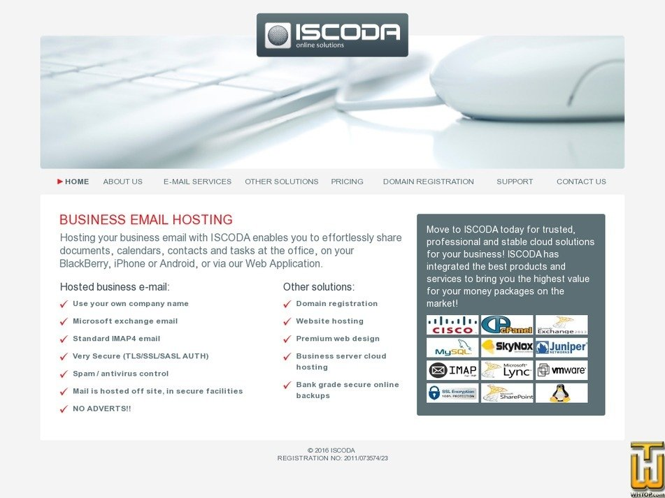 iscoda.co.za Screenshot