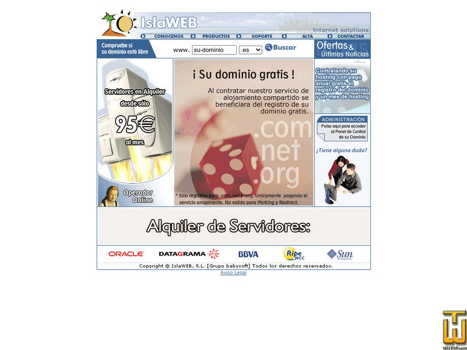 islaweb.com Screenshot