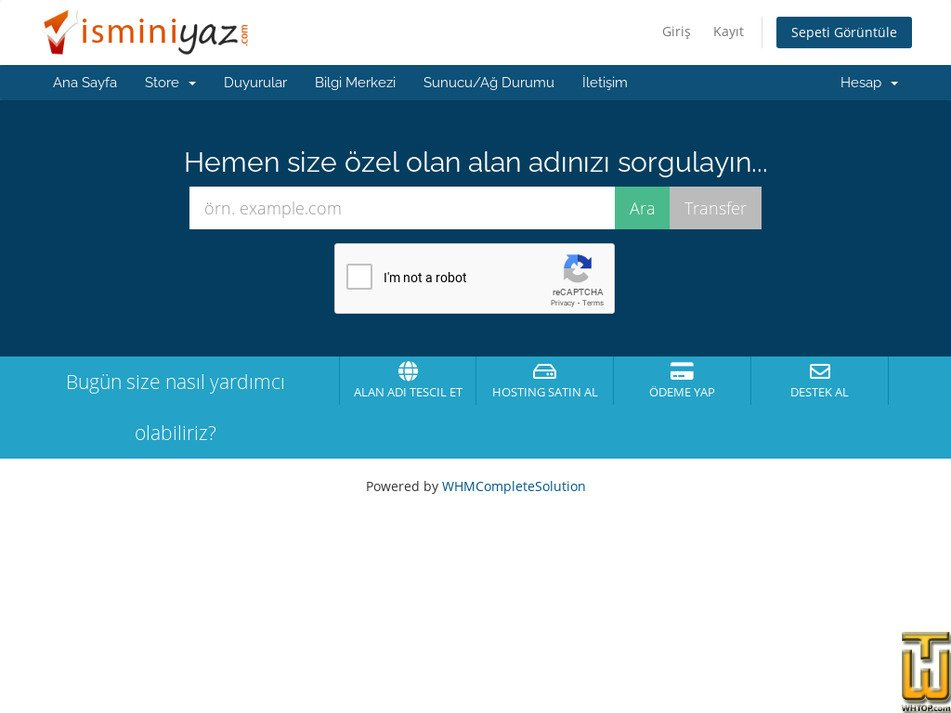 isminiyaz.com Screenshot