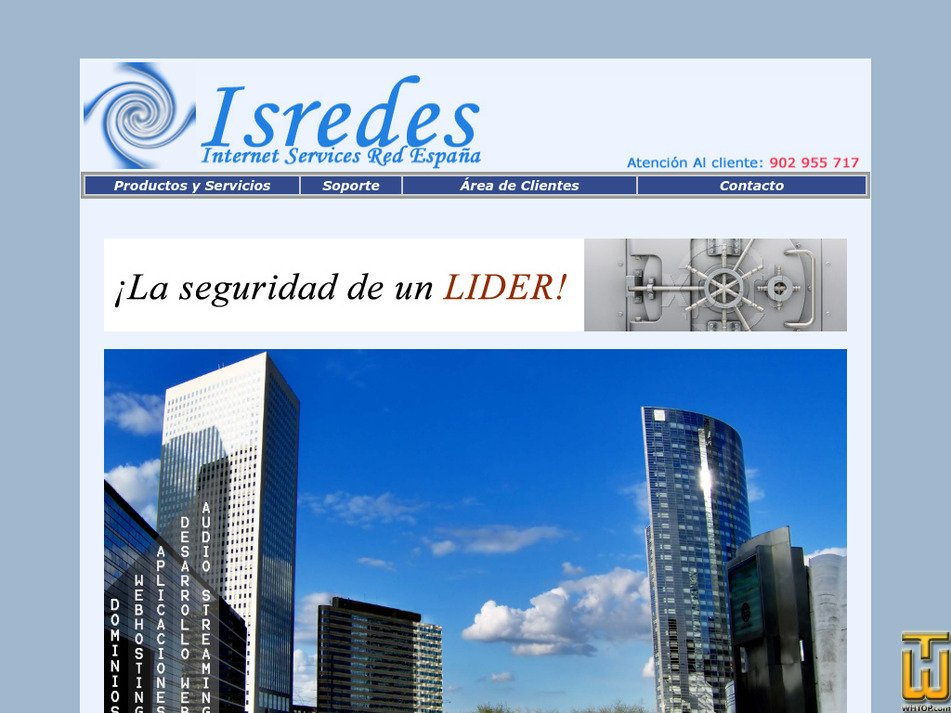 isredes.com Screenshot