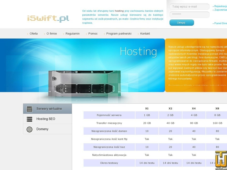 iswift.pl Screenshot