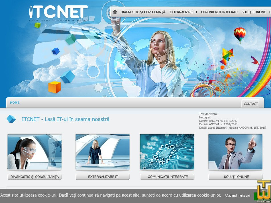 itcnet.ro Screenshot