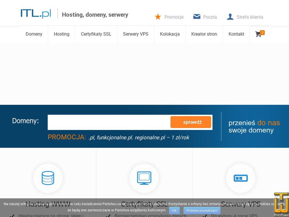itl.pl Screenshot