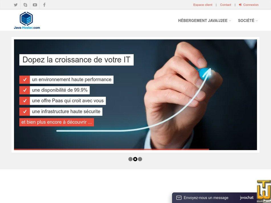 java-hoster.com Screenshot